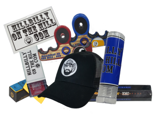 Licensed products available through the Bryant Billiards online store